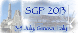 Symposium on Geometry Processing 2013