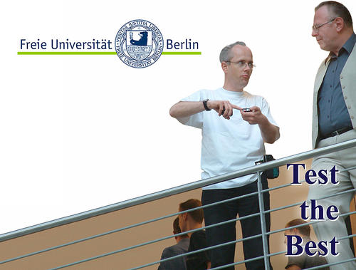 Test the Best! FU Informatik und Mathematik