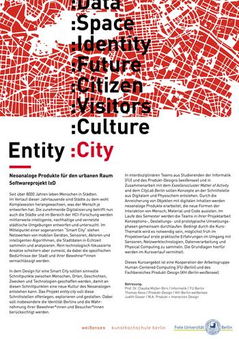 Poster Entity:City