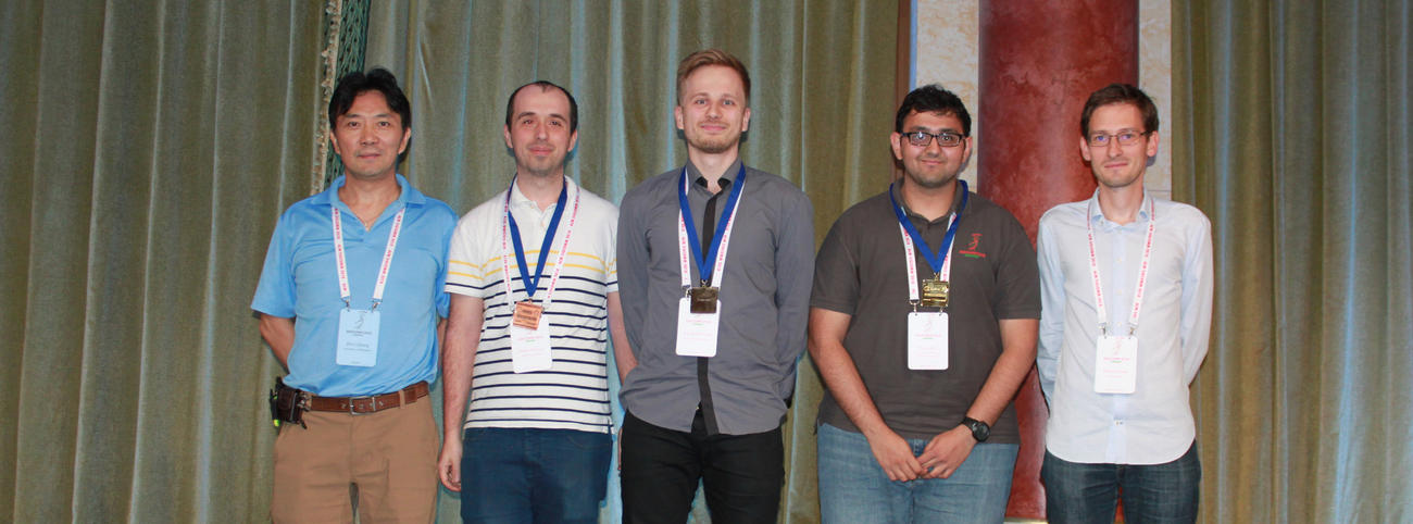Winners of ACM SIGCOMM Student Research Competition 2018 (Graduate Students)